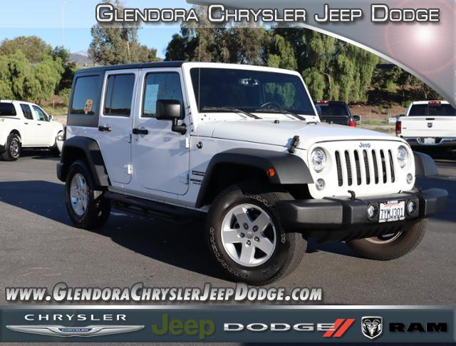 Certified Pre-Owned 2017 Jeep Wrangler Unlimited Sport S Sport Utility 4D