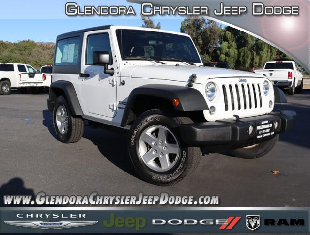 Pre Owned 2016 Jeep Wrangler