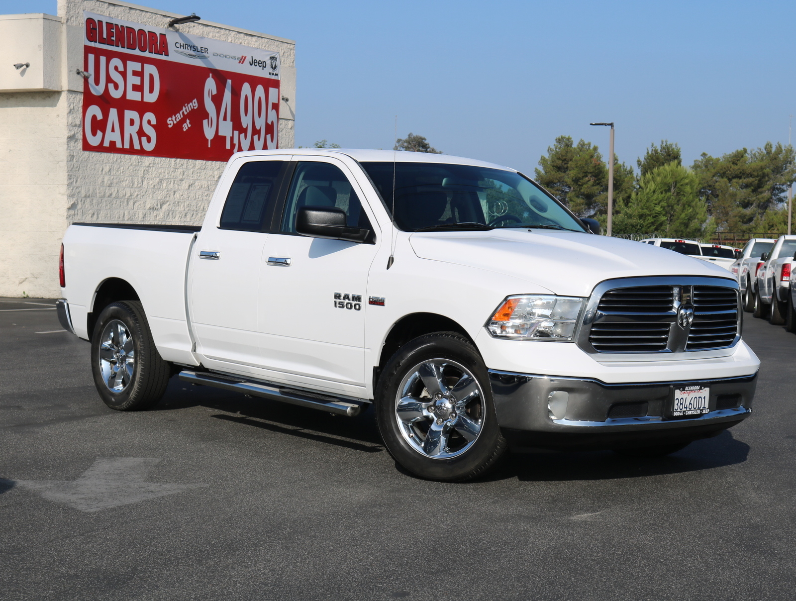 Dodge Ram 2015 >> Pre Owned 2015 Ram 1500 Big Horn Rear Wheel Drive 2wd Quad Cab 140 5 Big