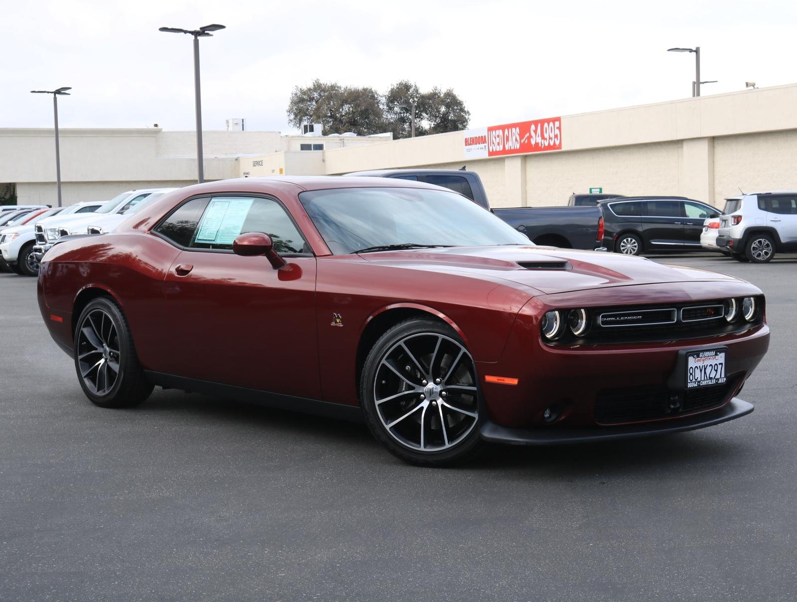 2018 Dodge Challenger >> Certified Pre Owned 2018 Dodge Challenger R T Scat Pack R T Scat