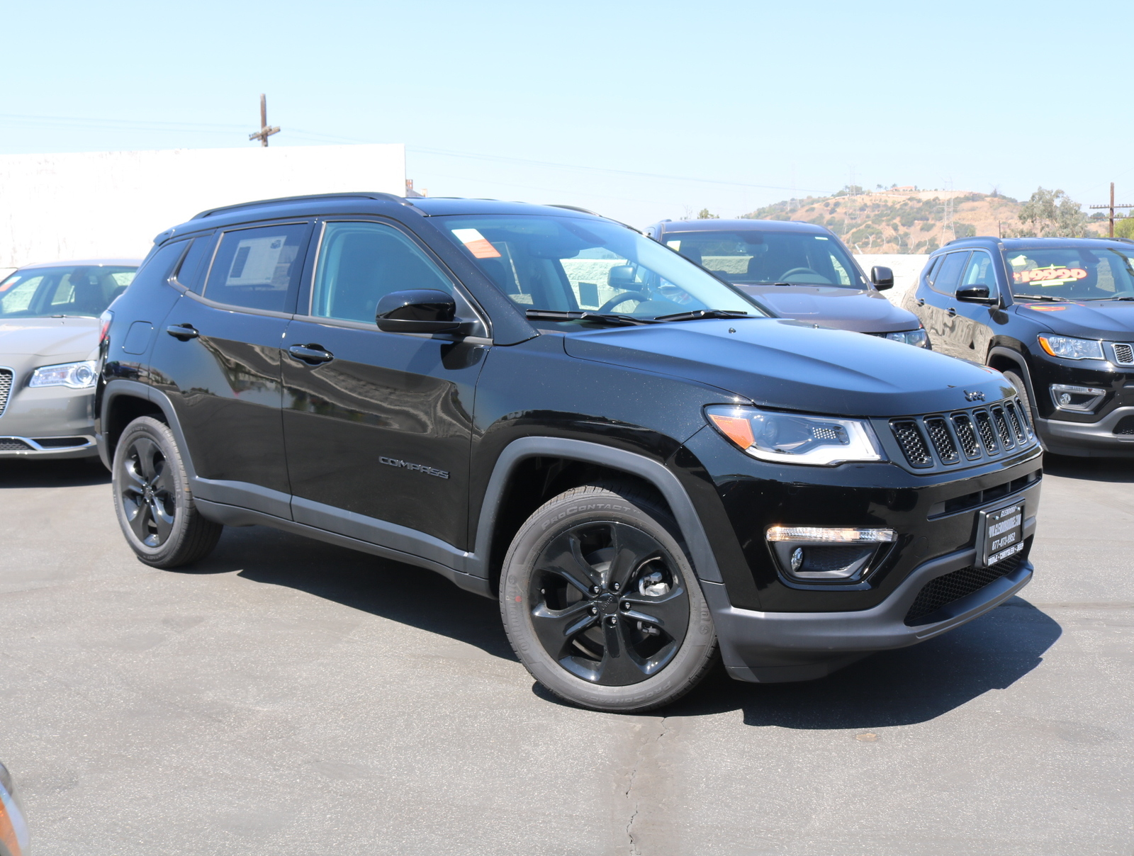 New 2019 JEEP Compass FWD