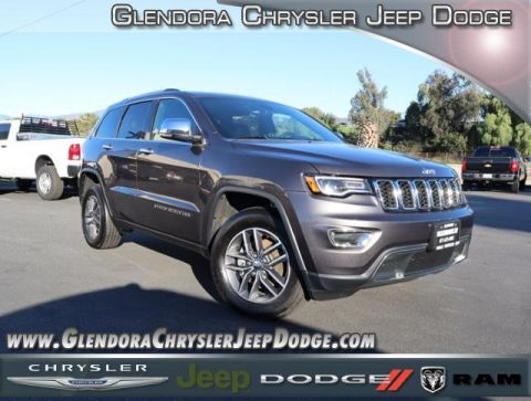 Certified Pre-Owned 2017 Jeep Grand Cherokee Limited Sport Utility 4D