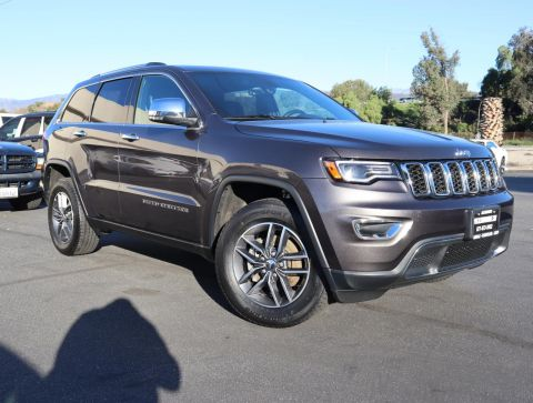 Certified Pre-Owned 2018 Jeep Grand Cherokee Limited Sport Utility 4D