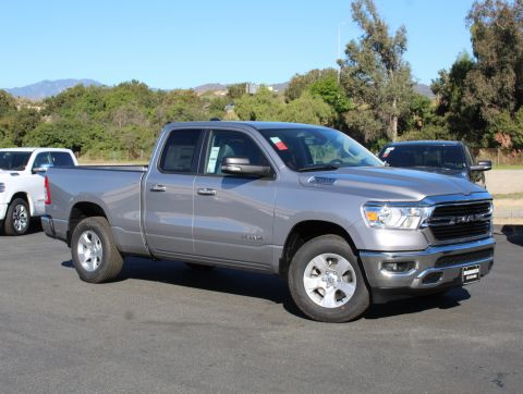 New 2020 RAM 1500 4x2 Quad Cab 6'4 Box